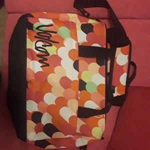 "Volcom ""Going Back Tote Bag"". Laptop bag."